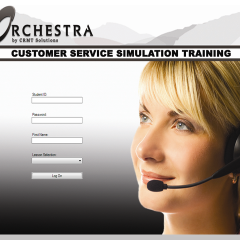 Symphony Customer Service Simulation Software